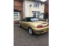 Mg mgf sport steptronic 1.8cc x reg 2001 year