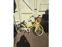 Girls 20inch bike
