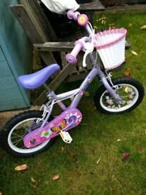 Girls bike age 3-5