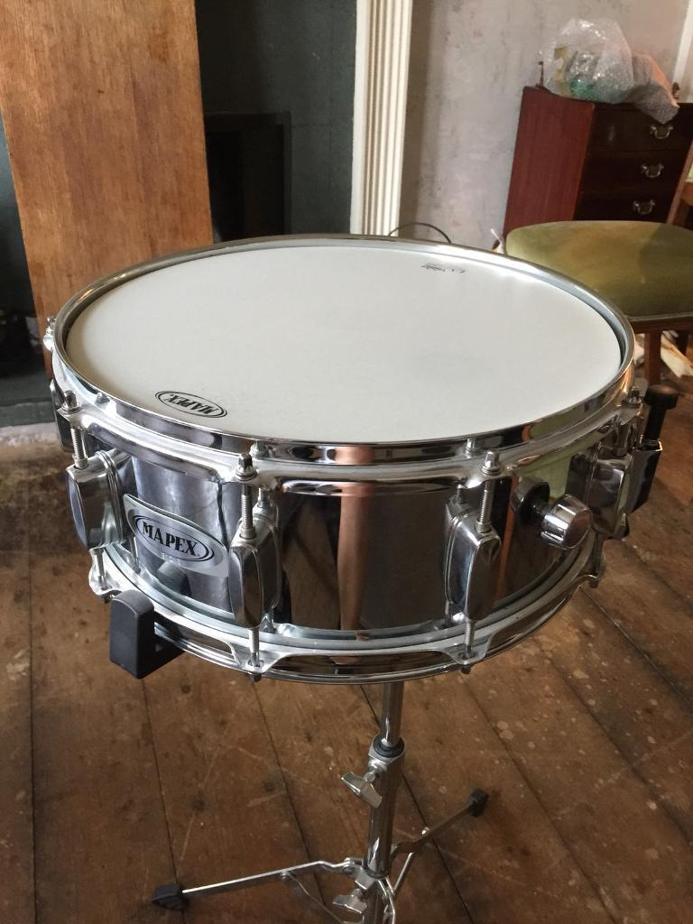 MAPEX Snare Drum and Stand