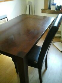 table and chairs 50 pound