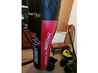 Punch bag and speedball