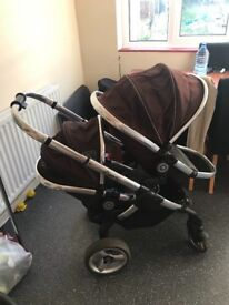 Double icandy pushchair