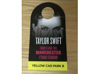Taylor swift concert parking at the stadium Friday 8th June 2018