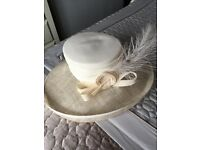 Condici cream mother of the bride/groom hat