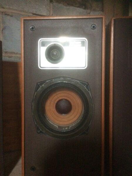 Goodmans vintage stereo speakers for sale  Broseley, Shropshire