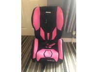 Recaro Young Infant Car seat from 9 months onwards.