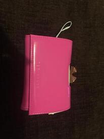 Brand new bright pink ted baker purse