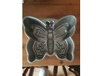Lakeland metal butterfly cake tin