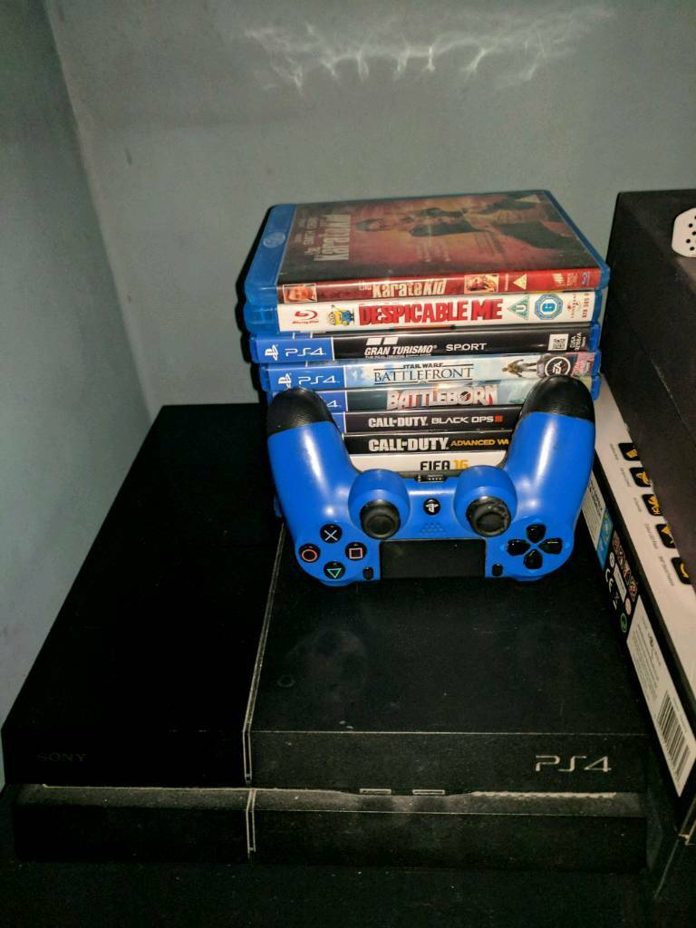 PS4 500gb Original + Games