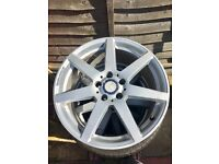 "Genuine 18"" Mercedes AMG Alloys Taken Off Mercedes C250 Saloon 2011"