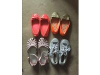 Girls shoes size 9-9.5