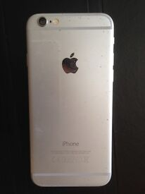 Apple I phone 6 16gb silver 4g unlocked to all networks