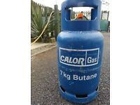 Caravan Motorhome Camping 7kg Calor Gas Bottle.