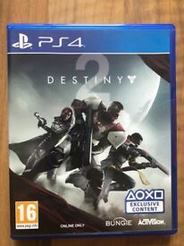 Destiny 2 , ps4 , Brand New ! Price stands , no offers !