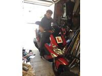 Gilera runner 50 cc spares repairs