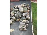 Garden rocks and stone