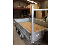 2015 DALE KANE FLATBED 10FT X 5FT 5INCHES,LED LIGHTS&NEW SPARE WHEEL..£2195