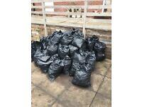 Free bagged up soil