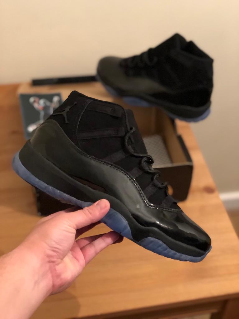 Nike Air Jordan 11 Cap And Gown Black Size 11 In Stratford London