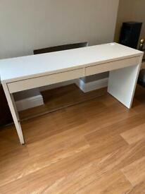 IKEA desk white good condition