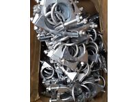 Joblot nearly 200 new exhaust clamps car parts job lot