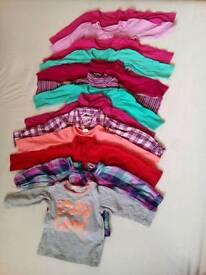 Baby girl clothes bundle 9-12 months/up to 80cm