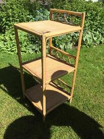 Bamboo 3 Shelf Plant Stand or Table