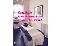 Stunning treatment room in knightsbridge for daily rental