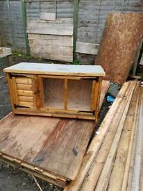 New 3ft tongue and grove hutch