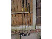 Set of Wilson Golf Clubs