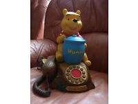WINNIE THE POOH TALKING HONEY POT PHONE