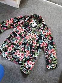 New look floral kimono brand new