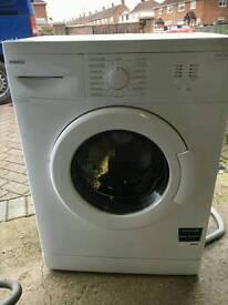 slimline washing machine