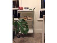 Ikea kitchen trolley white