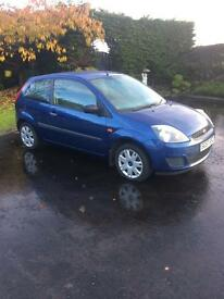 Fiesta 1.2 2007 petrol blue
