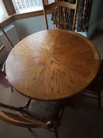 Dining Table - Extending and 4 Chairs