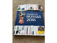 Russia World Cup panini sticker swaps