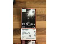 Ed sheeran standing tickets x 4 Thursday 16th june