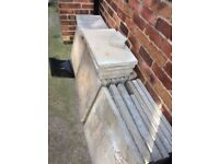 Paving stones/slabs flag stones 2ftx2ft
