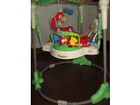 Fisher Price Rain Forest Jumperoo Baby Bouncer