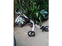 Sun Mountain Speed Cart V1. 3 Wheel golf trolley. To