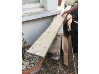 Original Victorian floorboards - approx 28-30sq metres