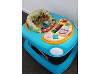 Chicco baby walker blue