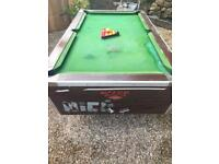 FREE!!! Pool table + Table Tennis Tops