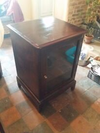 Stag hi fi cabinet, good condition