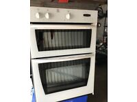 Electric Double Oven Indesit White excellent condition