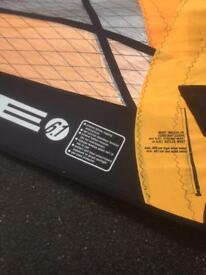 Windsurfing sail Art pure wave 6.1 m by Monty Spindler