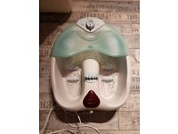 Visiq Bubble Foot Spa - used but in a very good condition