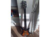 Warwick Rockbass Corvette Basic 5 String Fretless Bass